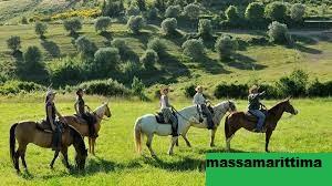 Wisata Menunggang Kuda di Tuscany Italia